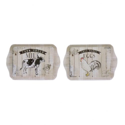 Farmers' Market Trays - Set of 2