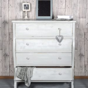4 Drawer Wooden Chest