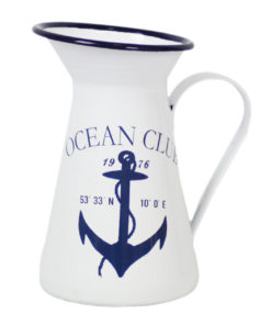 Enamel Anchor Jug